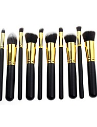 cheap -10 Makeup Brushes Set Synthetic Hair Face / Lip / Eye