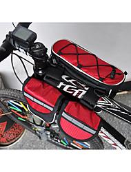 cheap -Acacia Bike Frame Bag Waterproof Rain Waterproof Reflective Strips Bike Bag 600D Ripstop Waterproof Material Bicycle Bag Cycle Bag Cycling / Bike