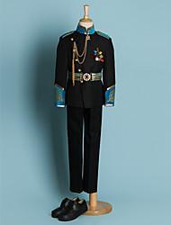cheap -Black Polyester Ring Bearer Suit - 4 Pieces Includes  Jacket / Waist cummerbund / Shirt