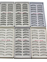 cheap -Eyelash Extensions False Eyelashes 120 pcs Volumized / Natural / Curly Eyelash Classic Daily Makeup Cosmetic