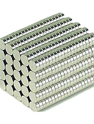 cheap -200 pcs 3*1mm Magnet Toy Building Blocks Super Strong Rare-Earth Magnets Neodymium Magnet Puzzle Cube NdFeB Neodymium Magnet Circular Cylinders Executive Toy Magnet DIY Button Kid's / Adults' Boys