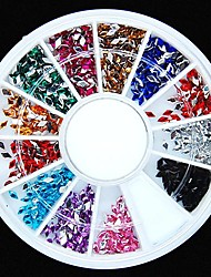 cheap -1 pcs Lovely Acrylic Nail Jewelry Rhinestones For Finger nail art Manicure Pedicure Daily Fruit / Flower / Abstract / Cartoon / Punk