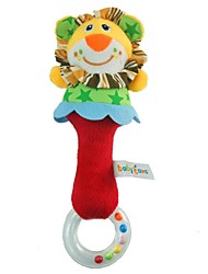cheap -Babyfans ™ Plush Cartoon Lion Animal Baby Soft Rattle Toys