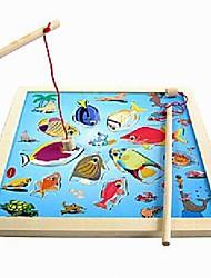 Недорогие -Магнитные игрушки Конструкторы Сильные магниты из редкоземельных металлов Неодимовый магнит Головоломка Куб Рыболовные игрушки Наборы для моделирования деревянный Магнитный Взрослые Мальчики Девочки