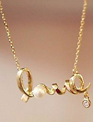 cheap -Lucky Doll Women's  Love Necklace