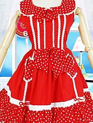 cheap -Sweet Lolita Dress Women's Dress Cosplay Sleeveless Short Length Costumes