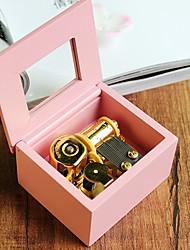 abordables -mariage d'amour boîte à musique en bois