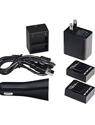 Недорогие -Charger / батарея Для Все ABS черный