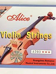 Недорогие -A703 Скрипка Строки Набор, пригодный для 1/8-4/4 скрипки