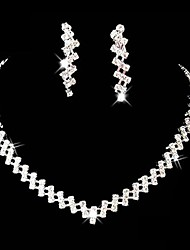 cheap -Women's Rhinestone Alloy Wedding Party Special Occasion Anniversary Birthday Engagement Gift Costume Jewelry