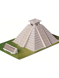 cheap -Educational Toys Magic Puzzle Maya Pyramid Egypt Model 3D Puzzle for Children and Adult Jigsaw Puzzle(19PCS)