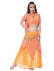 cheap -Belly Dance Outfits Women's Silk