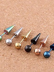 cheap -Ear Piercing Women's Body Jewelry For Daily Casual Stainless Steel Ball