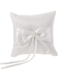 cheap -Faux Pearl / Ribbons Satin Ring Pillow Classic Theme