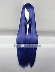 cheap -Naruto Hinata Hyuga Cosplay Wigs Women's 40 inch Heat Resistant Fiber Purple Anime