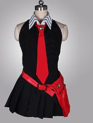 cheap -Inspired by Akame Ga Kill! Cosplay Anime Cosplay Costumes Japanese Cosplay Suits Patchwork Sleeveless Dress / Gloves / Belt For Women's