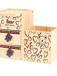 Недорогие -нести дом шаблон деревянные хранения Music Box игрушки