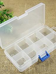 Недорогие -прозрачный коробка ювелирных изделий 8 сетки