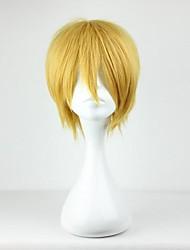 cheap -Cosplay Kise Ryota Cosplay Wigs Men's 12 inch Heat Resistant Fiber Golden Anime