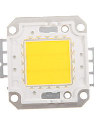 cheap -ZDM DIY 20W 1600-2000LM Warm White/ Cold White / Naturally White  Light Integrated LED Module (DC33-35V 0.5-0.6A) Street Lamp for Projecting Light  Gold Wire Welding of Copper Bracket