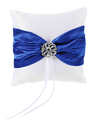 cheap -Rhinestone / Ribbons Satin Ring Pillow Classic Theme