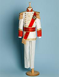 cheap -Polyester Ring Bearer Suit - 5 Pieces Includes  Jacket / Shirt / Pants / Waist cummerbund / Suspenders
