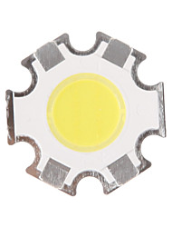 cheap -5W 400-450 LM Hexapod Circular COB LED Light Source Luminescence Surface Diameter 11MM Cold White 6000-6500K (DC15-17V, 280mA)