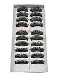 cheap -Eyelash Extensions False Eyelashes 20 pcs Volumized / Thick Eyelash Classic Daily Makeup Cosmetic