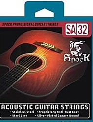 cheap -SA32 - Silver Folk Guitar Strings