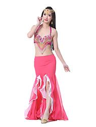 cheap -Belly Dance Skirt Women's Performance Chiffon