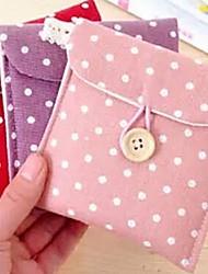 Недорогие -пятно подпись хлопка гигиенических салфеток сумка случайный цвет