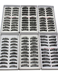 cheap -Eyelash Extensions False Eyelashes 120 pcs Volumized / Natural / Thick Eyelash Classic Daily Makeup Cosmetic