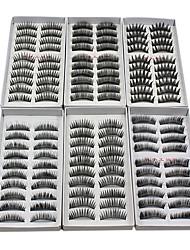 cheap -Eyelash Extensions False Eyelashes 120 pcs Volumized / Natural / Thick Eyelash Classic Daily Makeup Cosmetic