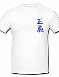 cheap -Inspired by One Piece Cosplay Anime Cosplay Costumes Japanese Cosplay Tops / Bottoms Short Sleeve T-shirt For Men's