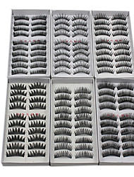 cheap -Eyelash Extensions False Eyelashes 120 pcs Volumized / Natural / Thick Eyelash Makeup Cosmetic