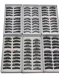 abordables -Cil Faux Cils 120 pcs Dense / Naturel / Epais Cil Maquillage Cosmétique