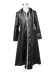 cheap -Inspired by Kingdom Hearts Cosplay Video Game Cosplay Costumes Cosplay Suits Solid Colored Cloak Costumes