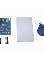 Недорогие -MFRC-522 rc522 RFID индукционный датчик модуль IC карты с бесплатным S50 брелок карты