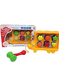 Недорогие -собака формы дети Buliding блоки игрушки