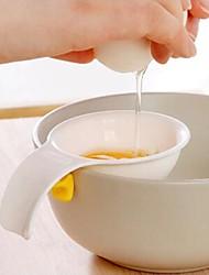 cheap -Mini Egg Yolk White Separator With Silicone Holder Egg Separator Tool kitchen