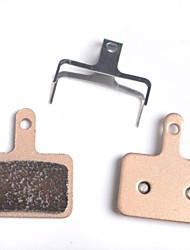 cheap -Bike Disc Brake Pads Metalic Low Noise Smooth For Road Bike Mountain Bike MTB Cycling