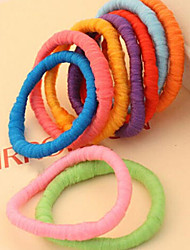 cheap -Sweet Candy Colors Exaggerated Nightclub Hair Rope Random Delivery