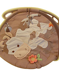 cheap -Kids' Soft Crawling Play Mat Cute Cow Carpet