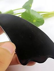 Недорогие -Традиционный массаж тела буйвола инструмент рог треугольная форма ласточкин хвост Guasha очистить терапию 11 * 5см