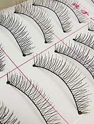 cheap -Eyelash Extensions False Eyelashes 20 pcs Volumized Natural Curly Fiber Daily Makeup Daily Makeup Cosmetic Grooming Supplies