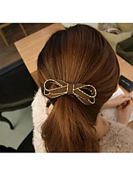 Недорогие -мода бантом хлопка волос связывает волосы круг случайный цвет