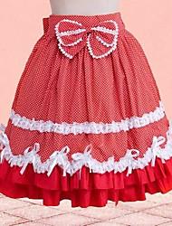 cheap -Sweet Lolita Dress Cotton Skirt Cosplay Short Length Costumes