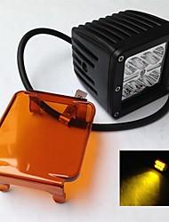 cheap -OTOLAMPARA 1 Piece 3000K Yellow Color Lightness 18W 335 6 LEDs IP67 Anti-fog LED Work Light
