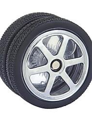 cheap -Black Tire Style Ball Bearing GPPS & PVC Yoyo Toy (Black)