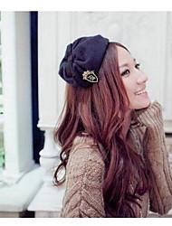 Недорогие -мода вышивать значок с бантом шляпу оголовьем